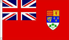 CANADIAN RED ENSIGN WW2 5' x 3' Canada Flag 1921-1957 World War ll