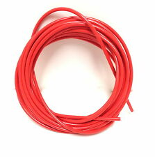 SIX FOOT LENGTH BICYCLE BIKE LINED BRAKE CABLE HOUSING RED/ORANGE 6'