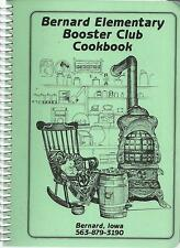 *BERNARD IA 2002 ELEMENTARY SCHOOL BOOSTER CLUB COOK BOOK IOWA COMMUNITY RECIPES