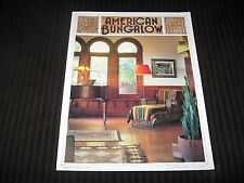 AMERICAN BUNGALOW FALL 1998 #19  - PRESERVING AND RESTORING - ARTS AND CRAFTS