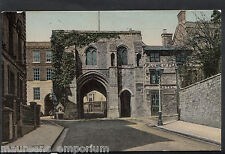 Hampshire Postcard - West Gate, Winchester  RT1565