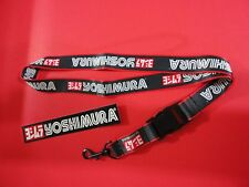 Genuine Yoshimura Lanyard Keychain!  With FREE Sticker Decal. USA Seller!