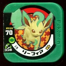 "POKEMON JETON COIN JAPANESE ""COUNTER"" - N° 70 Leafeon (3-26) PHYLLALI"