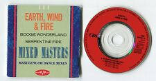 Earth, Wind & Fire 3-INCH-cd-maxi MIXED MASTERS Maxi Length Dance Mixes © 1989