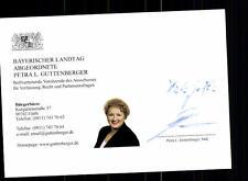 Petra Guttenberger Autogrammkarte Original Signiert  ## BC 76487