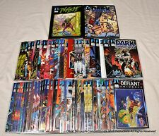 Defiant Comics-The Definitive Lot!  62 Issues Plasm Good Guys Dark Dominion ETC!