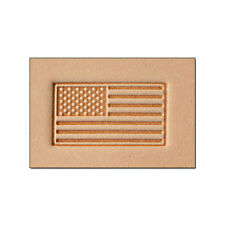8580 Craftool 3-D Stamp American Flag Tandy Leather 8580-00