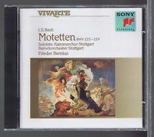 BACH CD NEW MOTETS FRIEDER BERNIUS