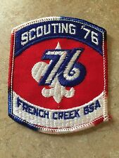VINTAGE SCOUTING '76 FRENCH CREEK BSA PATCH