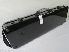 Black color hard fiberglass 4/4 violin case ,fine workmanship MA