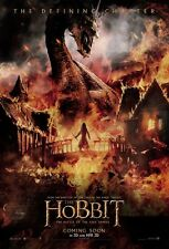 The Hobbit poster - Lord Of The Rings movie poster Battle Of The Five Armies (c)