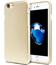 Apple iPhone 7 6S 6 Plus 5S 5 SE Case GOOSPERY Metal Clear Jelly Soft TPU Cover