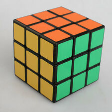 Magic Cube 3x3x3 PVC Black Super Smooth Speed Rubik's Cube 3x3 3 Layers