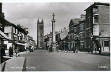 Cross Bolton unused RP old postcard by Valentines