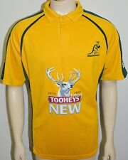 Brand New - Australia Wallabies Rugby Jersey Polo Shirt - Size: XL