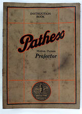 "Original Pathex ""Baby"" Projector Instruction Book, 16 pages"