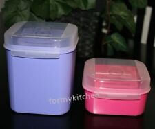 Tupperware Modular Mates Signature Line Flip Top Box Storzalot 2 & 5 Cup New