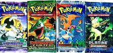 ① 4 BOOSTERS de CARTES POKEMON Neuf Aucun double en FRANCAIS (Lot N° AAP)