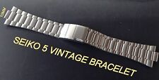 SEIKO VINTAGE BRACELET BAND STRAP FOR SEIKO 5 7009-3130 6309-8350 S-STEEL 10MM