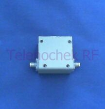 RF microwave single junction isolator 834 MHz CF/  297 MHz BW/ 100 Watt / data
