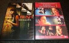 CRUSH & CRUEL INTENTIONS 3--2 movies-LUCAS TILL, CRYSTAL REED, KERR SMITH-DVD