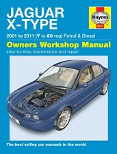 Haynes Manual Jaguar X-Type Gasolina & Diesel 2001 - 2010 5631 Nuevo