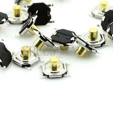 20 pcs Micro Waterproof Copper Tactile Tact Touch Push Button Switch SMD 4x4x3mm