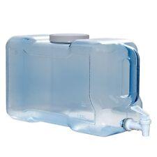 3 Gallon BPA FREE Water Wide Mouth Bottle Jug Refrigerator Valve Dispenser USA