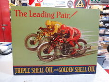 TRIPLE SHELL MOTORCYCLE OIL FITS BSA , TRIUMPH NORTON  PARTS