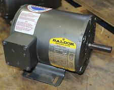 Baldor Electric .33 HP Motor Cat. No. M3104 Volts 208-230/460 - Tested Good