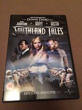 Southland Tales (DVD, 2008) the rock, seann william scott, region 2 uk dvd