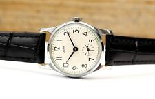 Vintage Zim Pobeda Victory USSR Russian Soviet Ladies Women Watch leather strap