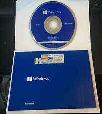 Microsoft Windows 8.1 Professional 64 Bit DVD with product key Sealed Pack