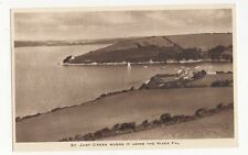 St Just Creek Where It Joins The River Fal Vintage Postcard 046a
