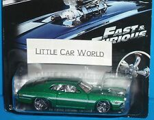 HOT WHEELS Fast & Furious '72 Ford Grand Torino Official Movie Merchandise