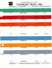 1956 1957 1958 1959 1960 1961 1962 TO 1966 CHEVROLET TRUCKS PAINT CHIPS 61ACME 3