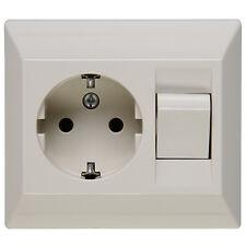 Kopp Schutzkontakt-Steckdose 1fach Standard mit Schalter Steckdose Neuware