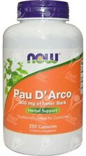 Now Foods, Pau D' Arco 500mg x250caps - ( Lapacho / Taheebo )