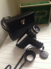 Bolex 250 Super 8 Camera 17-23 DIN 40-160 ASA In Original Box And Case