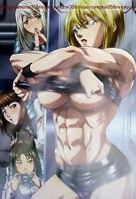 Terra Formars / Yuri Kuma Arashi poster promo anime bikini girl official