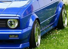 VW Golf Rabbit MK1 Cabrio Euro Headlight Hood Trim Grill Spoiler Eyelid Eyebrow
