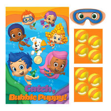 Bubble Guppies Poster 8 Player Birthday Party Game Set