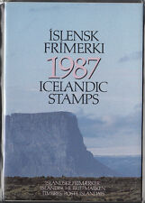 ICELAND 1987 OFFICIAL YEARSET