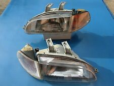 JDM STANLEY Honda Civic EG6 SR3 Corner Lamps Headlamp Head Light Lamp 1 Pair OEM