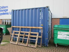 """SHIPPING/STORAGE CONTAINER CABIN AIR VENTS BLUE X 2. """"EASY TO FIT"""" FREE DELIVERY"""