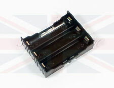 NEW DIY PLASTIC BATTERY STORAGE 6 PIN CASE BOX HOLDER for 3 x 18650 BATTERIES UK