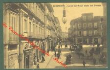 Campania. BENEVENTO. Corso Garibaldi. Cartolina d'epoca viaggiata nel 1912.