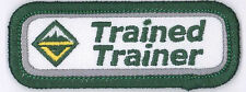 Venturing Scout Leader TRAINED TRAINER (GREEN) Strip Tab Non BSA Private Issue