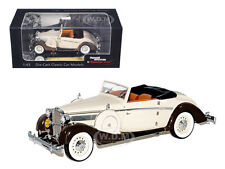 1937 MAYBACH SW38 SPOHN 2 DOORS CONVERTIBLE TAN 1/43 BY SIGNATURE MODELS 43705