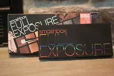 SMASHBOX Double Exposure Eye Shadow Palette Ombres 14 Shadows  W/ Brush